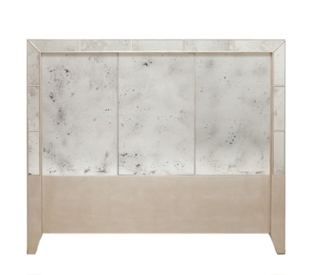 Made Goods Mia Mirrored Headboard - Queen