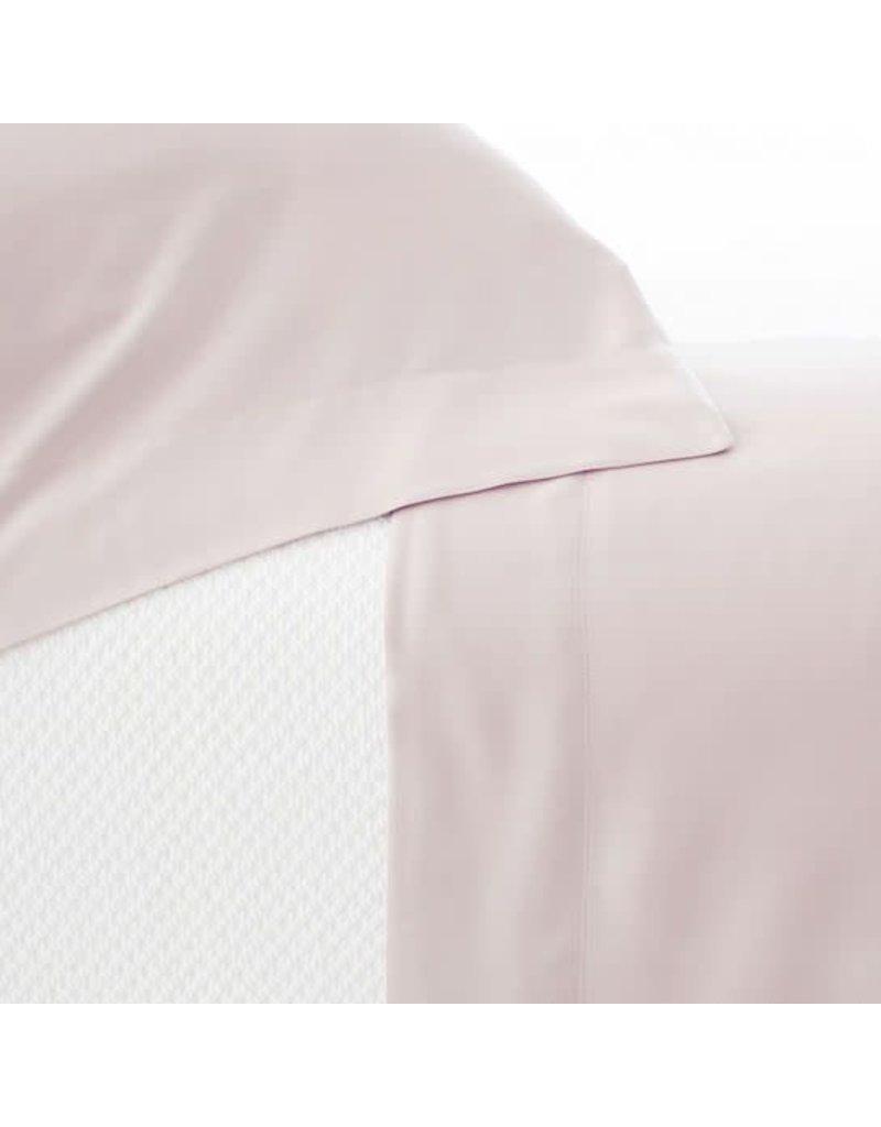 Pine Cone Hill Silken Solid Slipper Pink Sheet Set Queen