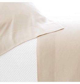 Pine Cone Hill Silken Solid Sand Sheet Set Queen