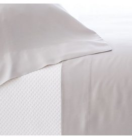 Pine Cone Hill Silken Solid Grey Sheet Set King