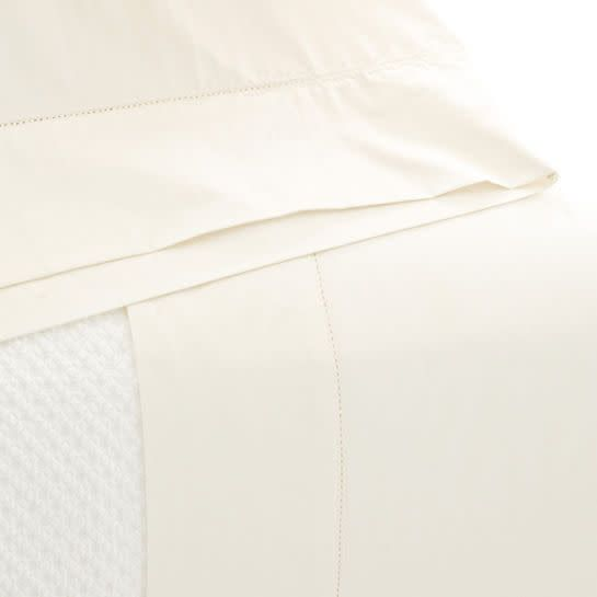 Pine Cone Hill Classic Hemstitch Ivory Sheet Set Queen