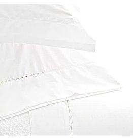 Pine Cone Hill Classic Hemstitch White Sheet Set Queen