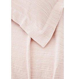 Pine Cone Hill Hardwood Euro Sham Matelasse Sunrise Pink
