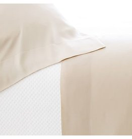 Pine Cone Hill Silken Solid Sand Pillowcases Standard