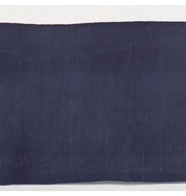 Pine Cone Hill Stone Washed Linen Indigo Tailored Paneled Bed Skirt Full/Queen