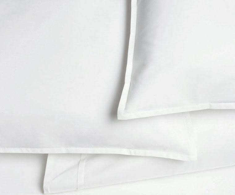 AREA home Pleat white Full queen flat sheet