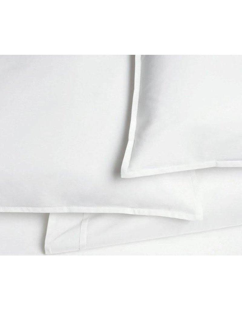 AREA home Pleat white standard pillowcase (pair)