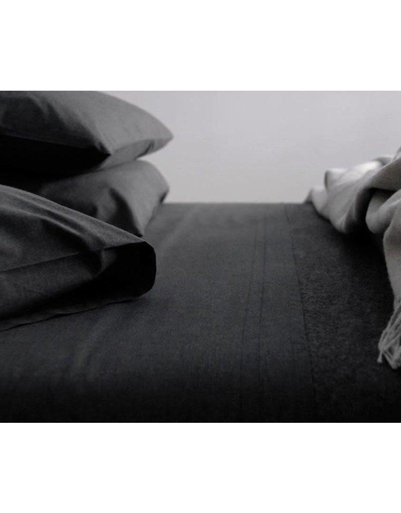 AREA home Heather coal King pillowcase