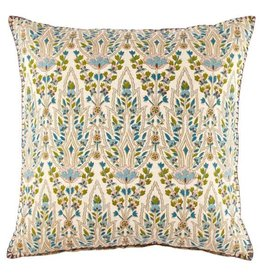 John robshaw Lina Peacock decorative pillow 20x20