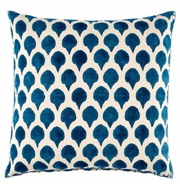 John robshaw Nadole peacock decorative pillow 20 x 20