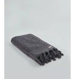 Ivy Columbus/jacquard towel stone grey