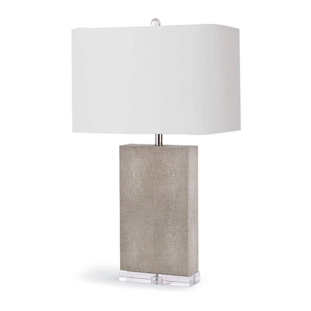Regina Andrew Design Marcel Ivory Shagreen Table Lamp