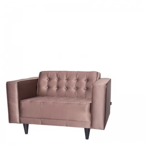 LONDON 1 SEAT LEATHER BRONZE