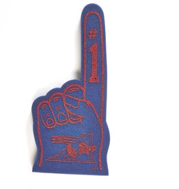 Hunter FOAM FINGER - BLUE