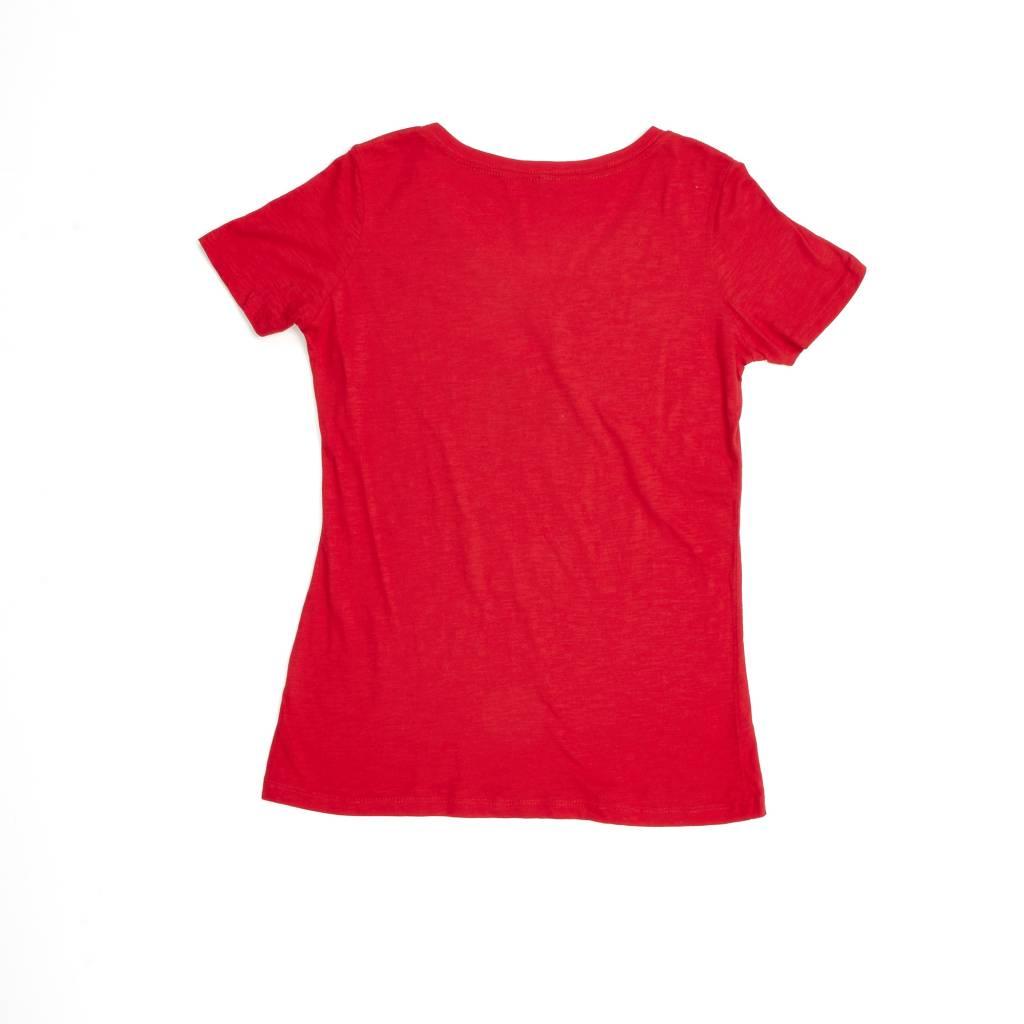 CGW SLUB SHIRT RED