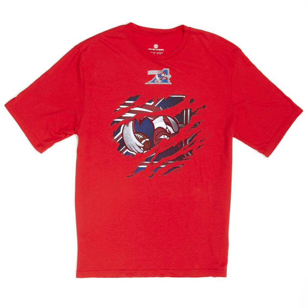 Levelwear RIPPED SHIRT - RED
