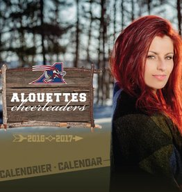 AlsFC CALENDRIER DES CHEERLEADERS 2016