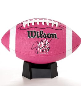 Wilson SIGNED PINK JONATHAN CROMPTON FOOTBALL