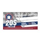 AlsFC CARTE-CADEAU 20$