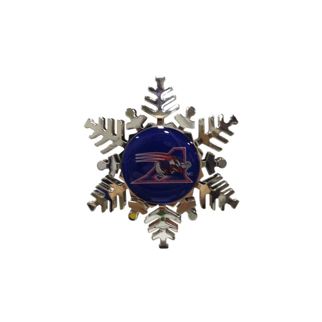 Hunter SNOWFLAKE ORNAMENT