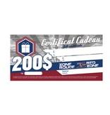 AlsFC CARTE-CADEAU 200$