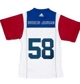 Adidas SIGNED BRODEUR-JOURDAIN AWAY JERSEY