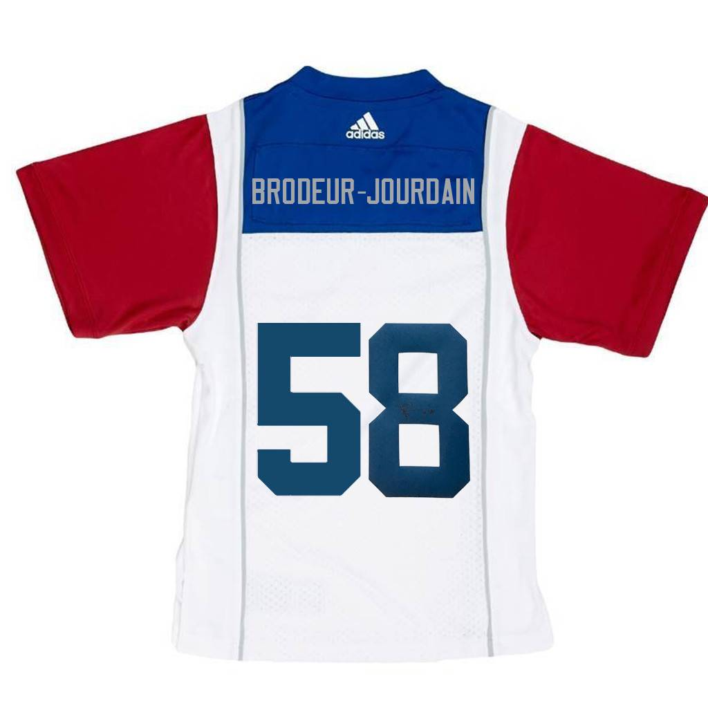 Adidas SIGNED BRODEUR-JOURDAIN AWAY JERSEY