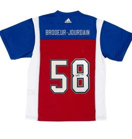 Adidas SIGNED BRODEUR-JOURDAIN HOME JERSEY