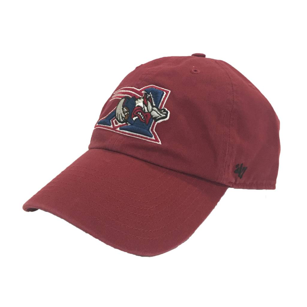 Brand 47 CASQUETTE CLEAN UP ROUGE