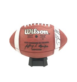 Wilson SIGNED SJ GREEN FOOTBALL