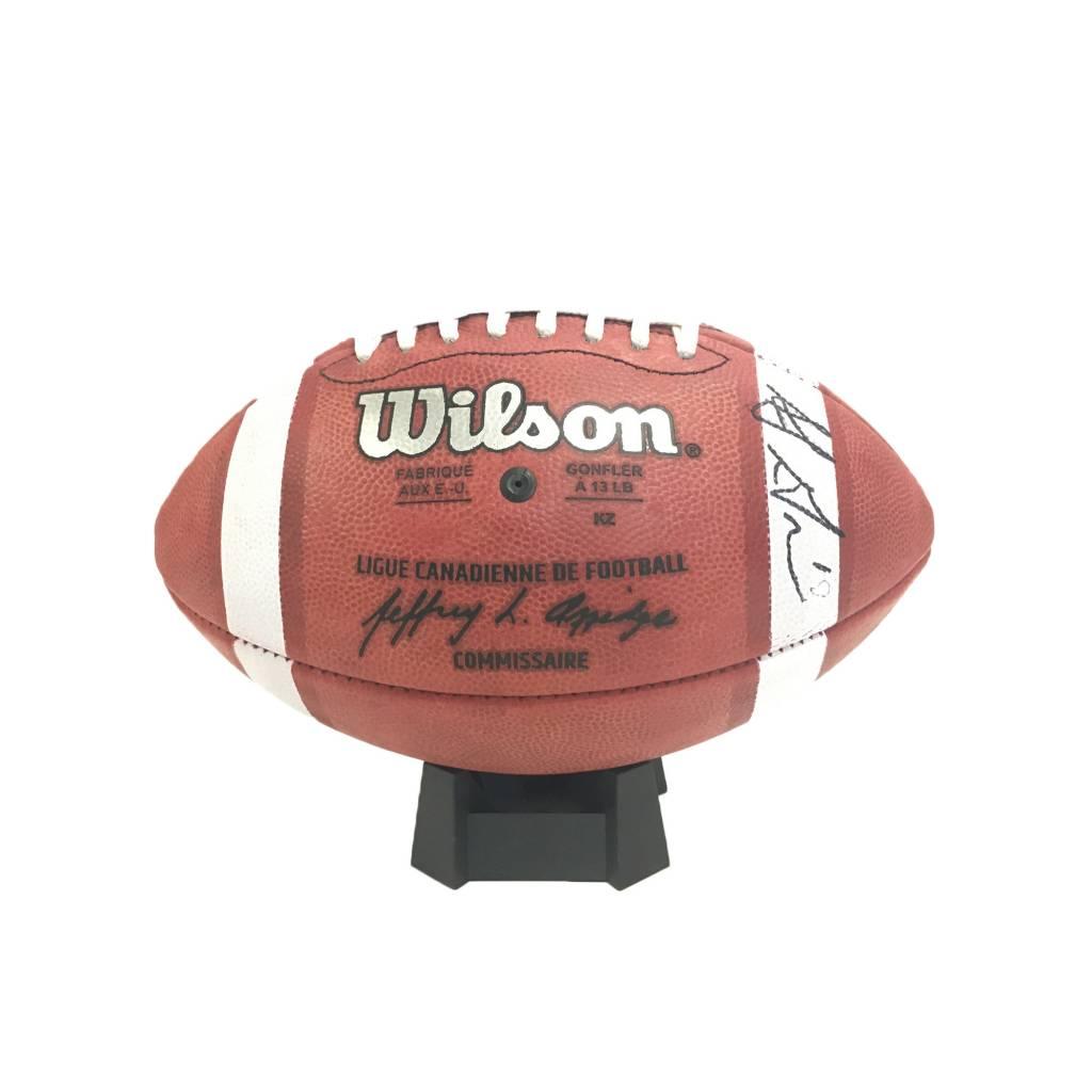 Wilson SIGNED SJ GREEN FOOTBALL