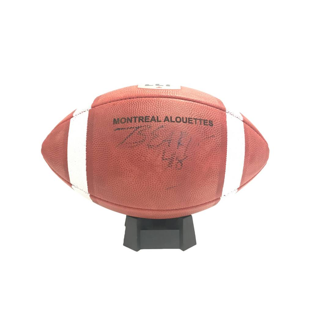 Wilson SIGNED BEAR WOODS FOOTBALL