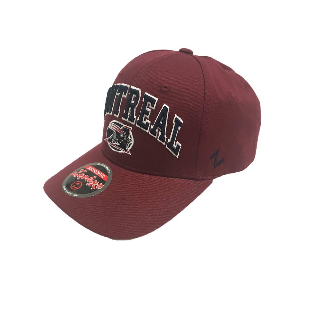 Zephyr RED MTL HAT