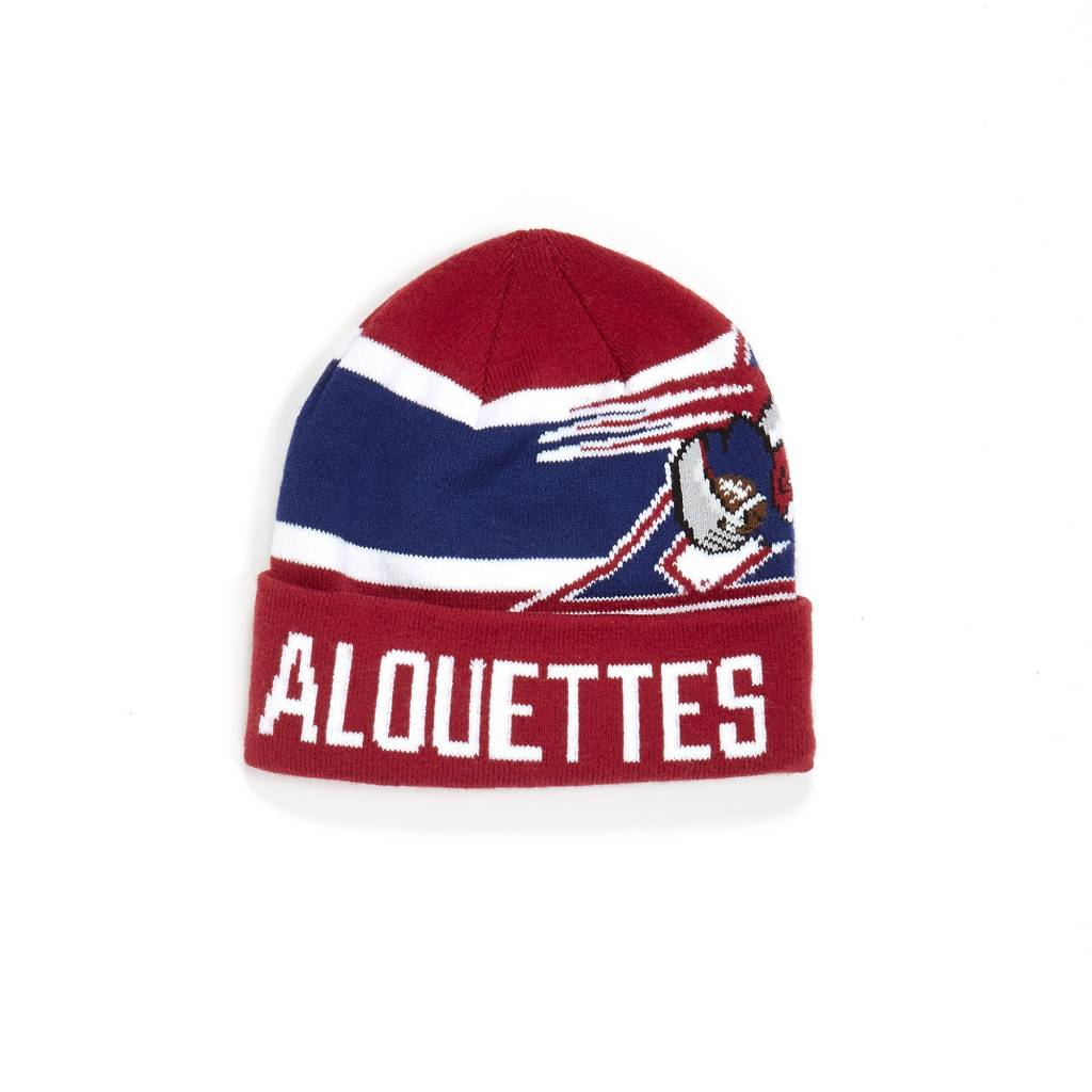Old Time Football NERO TUQUE