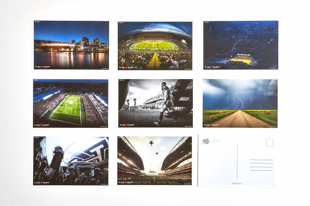 AlsFC OUR LEAGUE POSTCARDS - JOHANY JUTRAS