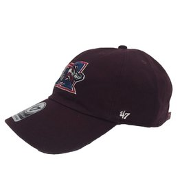 Brand 47 CASQUETTE CLEAN UP MAROON