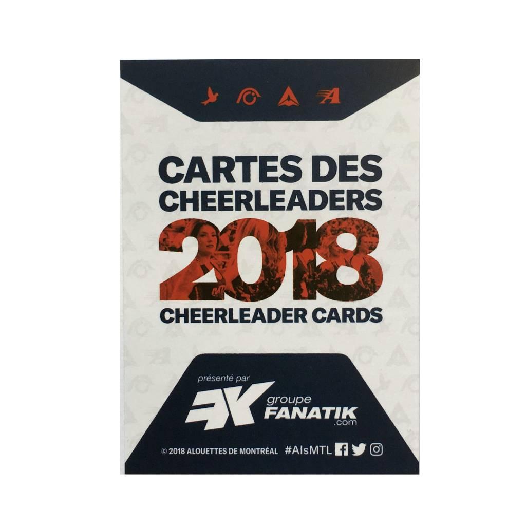 AlsFC CARTES DE CHEERLEADERS 2018