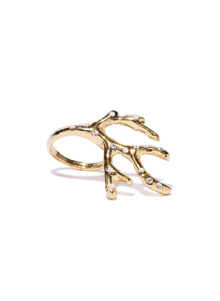 Ariel Coral Ring