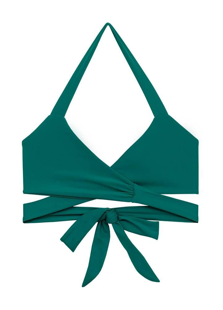 Citrine Sapelo Top Emerald