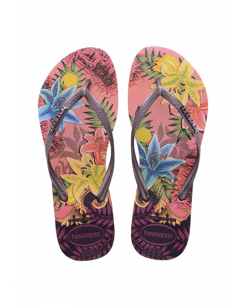 Havaianas Slim Tropical Rose