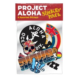 Project Aloha Rocker Sticker Pack