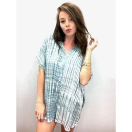 Acacia Mombasa Shirt Dress Shibori