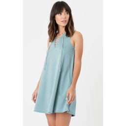 z supply All Tied Up Dress Lagoon