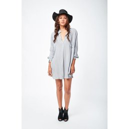 Indah Current Tunic Silver Noble