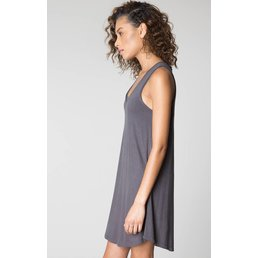 z supply Breezy Dress Charcoal