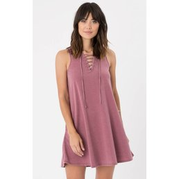 z supply All Tied Up Dress Rosewood