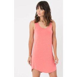 z supply Coastline Dress Spiced Coral