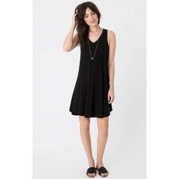 z supply Breezy Dress Black