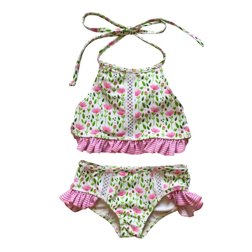 Kimi and Li Izi Bikini Set Pretty in Pink