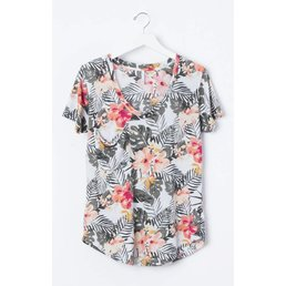 z supply Pocket Tee Tropical
